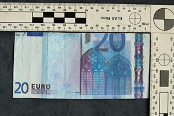 Falošná bankovka.