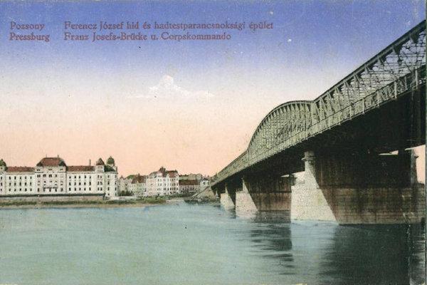 Most v roku 1914.