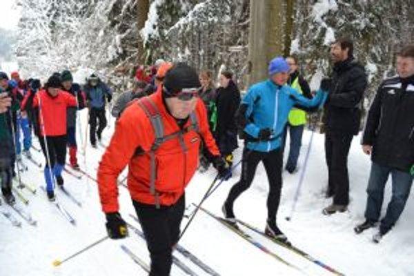 Beskydsko - Javornícku lyžiarsku magistrálu využilo začiatkom roka stovky turistov.