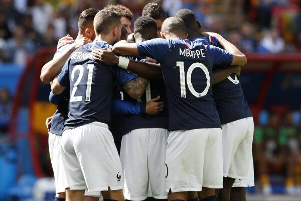 Francúzsko triumfovalo nad Austráliou.