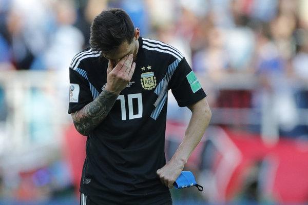 Lionel Messi Argentíne nezabezpečil víťazstvo.