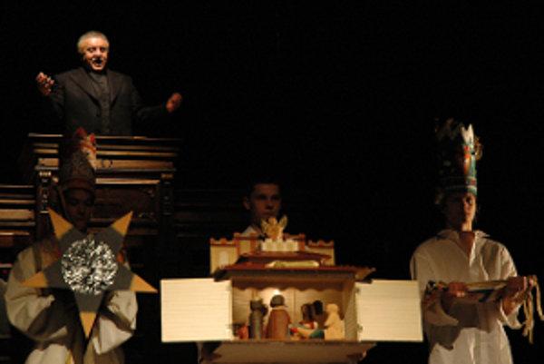 V monodráme Tiso sa v hlevanej úlohe predstaví Marián Labuda.