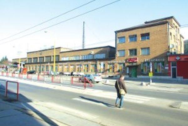 Železničná stanica v Žiline.