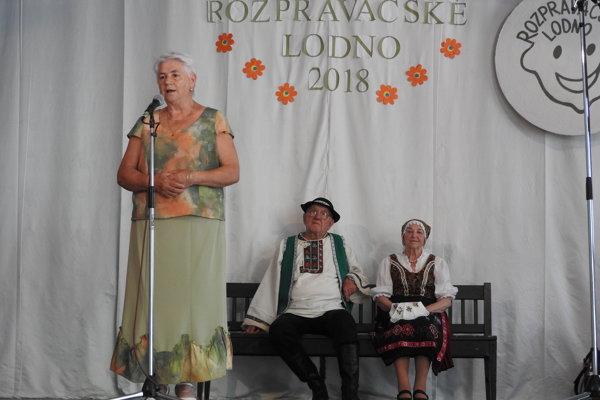 Viera Masaryková z Kysuckého Lieskovca.