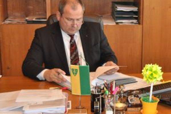 Igor Choma je v úrade od decembra minulého roku.