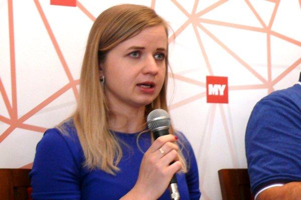 Zuzana Kalmanová, hovorkyňa mesta Martin.