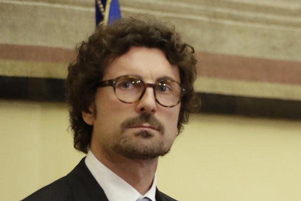 Taliansky minister dopravy Danilo Toninelli.
