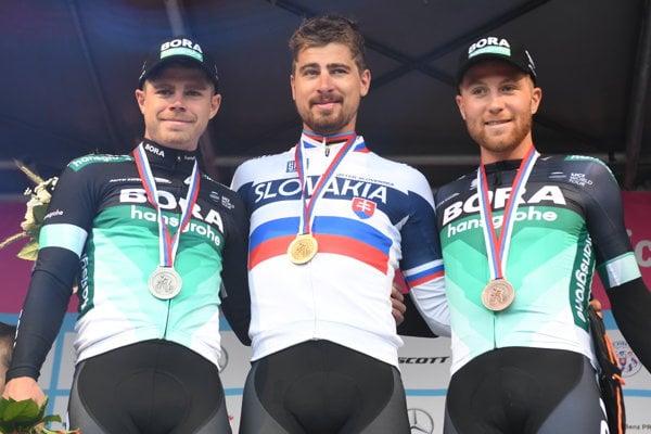 Michael Kolář (vpravo) skončil tretí a oznámil, že končí kariéru.