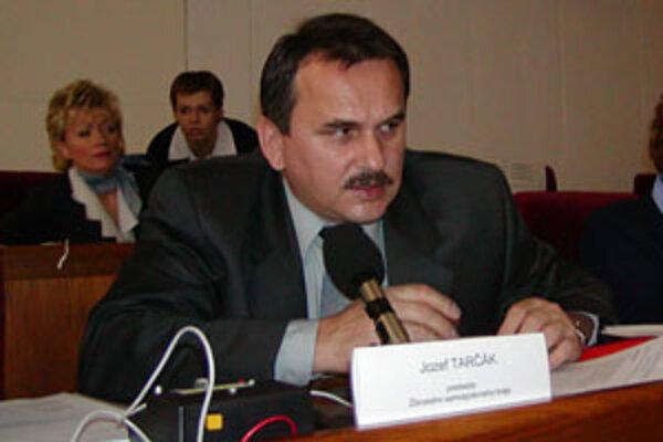 Jozef Tarčák v čase keď bol predsedom Žilinského samosprávneho kraja.