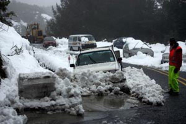 Počasie je nevyspytateľné. Snehová kalamita je na Novom Zélande. Na Slovensku vydali meteorológovia výstrahu pred snežením.