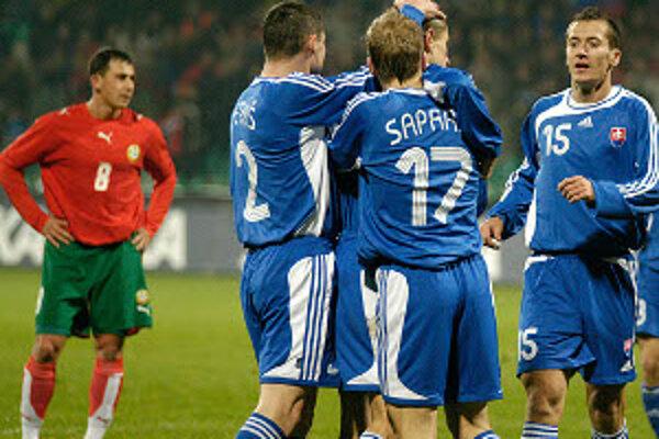 Slovensko si v utorok zahrá prípravný zápas s Chile.
