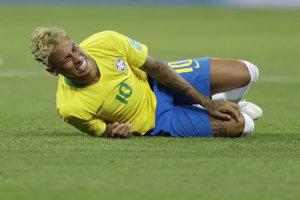 Neymar na MS vo futbale 2018 predviedol viac takýchto vystúpení, než gólov.