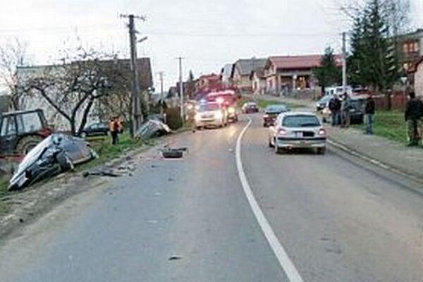Nehoda vo Sverepci.