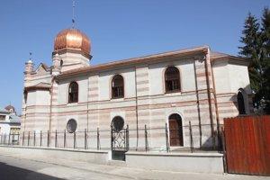 Synagóga patrí po obnove k najkrajším pamiatkam v meste.