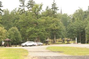 Pôvodné parkovisko na Mariánskej hore