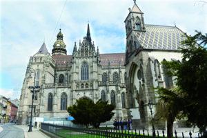 Dóm Sv. Alžbety vyhľadávajú snúbenci na sobáš najčastejšie.