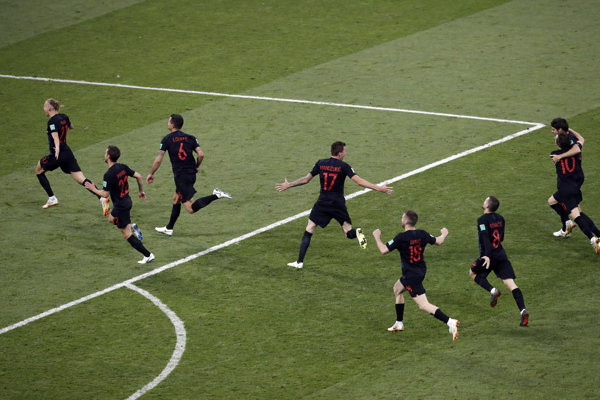 Futbalisti Chorvátska postúpili do semifinále.