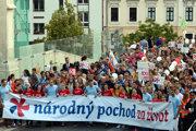 Národný pochod za život.