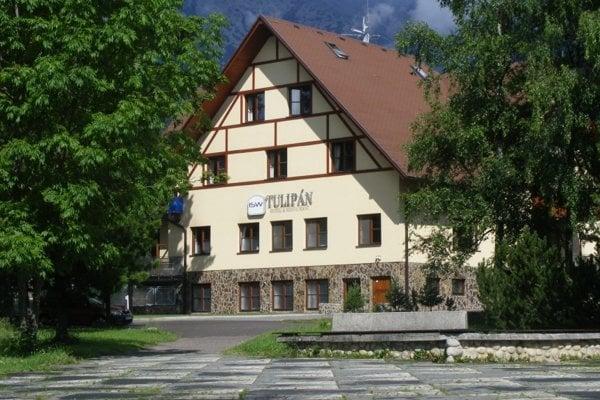 Hotel Tulipán v Tatranskej Lomnici.