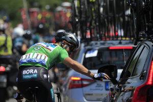 Peter Sagan počas štvrtej etapy na Tour de France 2018.