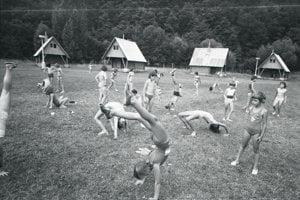 Pioniersky tábor Družba v Kysaku.