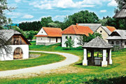 Múzeum slovenskej dediny v martinských Jahodníckych hájoch.