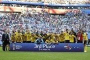 Belgicko zdolalo Anglicko a obsadilo tretie miesto na majstrovstvách sveta vo futbale v Rusku.