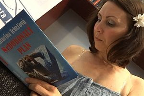 Autorka knih Katka Tekeľová.