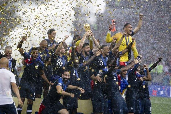 Francúzi sa radujú z titulu majstrov sveta.