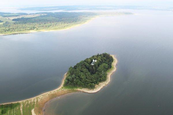 Na Oravskej priehrade sú dva ostrovy, jedným je Slanický ostrov. Pribudne k nim tretí- vtáčí.