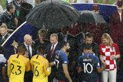 Francúzi vo finále porazili Chorvátsko a stali sa majstrami sveta.