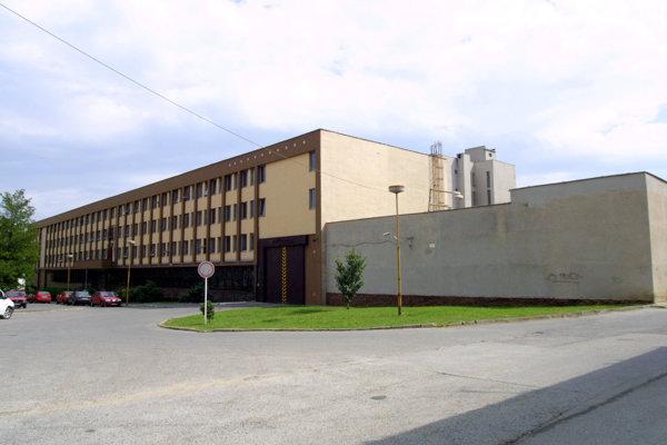 Väznica na Floriánskej ulici, kde zaznamenali pozitívny prípad osýpok.