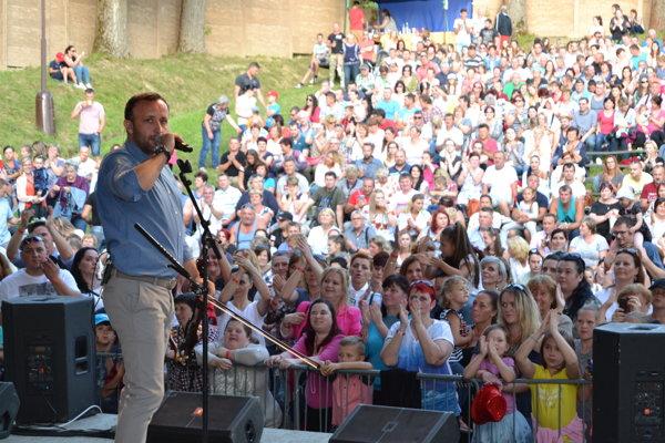 Amfiteáter v Turzovke spieval spoločne s Kandráčovcami.