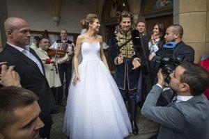 Dvojica sa vzala v Dolnom Kubíne v roku 2015.