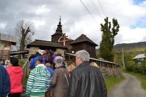 Chrám sv. Archanjela Michala v Ruskom Potoku.