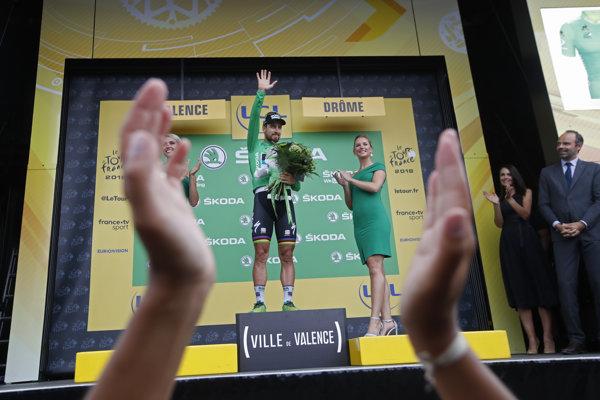 Peter Sagan má zelený dres už prakticky istý.