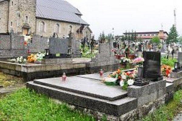 Starý cintorín v Babíne.