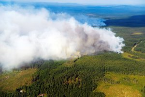 Švédsko zápasí s požiarmmi.