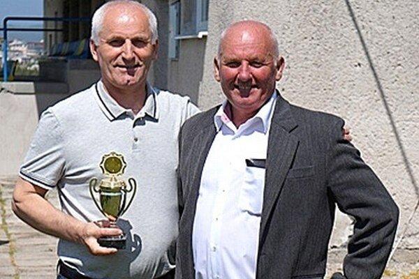 Peter Kružel (vpravo)