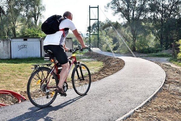 Most využívajú chodci aj cyklisti.