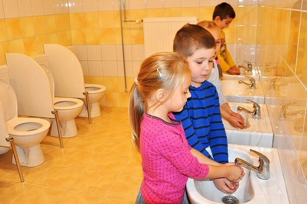 V materskej škole v Kňažej majú novú trieda aj miestnosť na hygienu.
