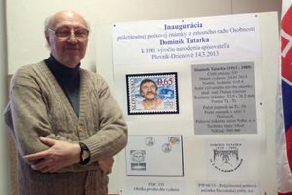 Autorom známky je Dušan Grečner.