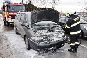 Zásah hasičov vZubrohlave.