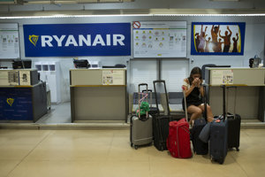 Ryanair rušil kvôli štrajku lety.