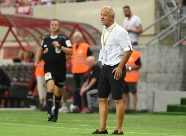 Juraj Jarábek neskrýval po zápase sklamanie z diváckej návštevy v Trnave. Fanúšikov Spartaka Trnava nazval fanúšikov úspechu.