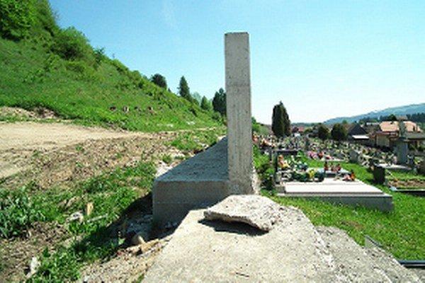 Cieľom stavebných úprav je zvýšiť počet hrobových miest.