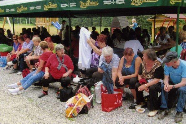 Seniori z Dolného Kubína a Limanowej sa bavili.