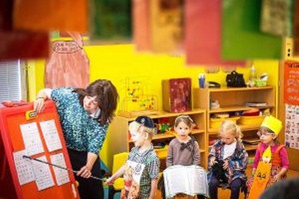 Deťom dá pobyt v materskej škole pred nástupom do školy veľa.