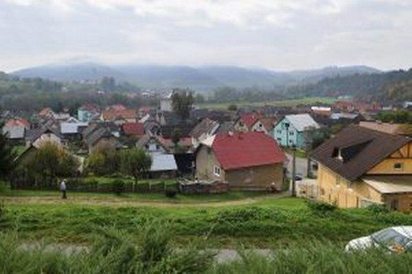 Pohľad na dedinu.
