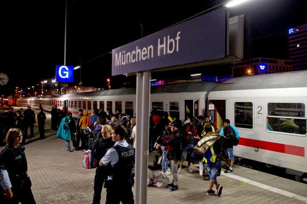 Utečenci prichádzali do Nemecka cez Bavorsko a jeho metropolu Mníchov.
